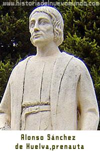 Alonso Sánchez de Huelva, prenauta