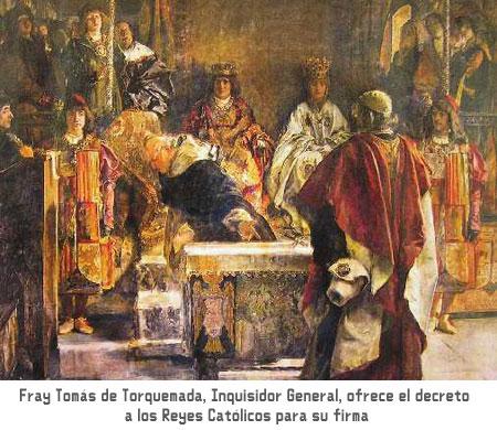 torquemadaReyesCatolicos - Historia del Nuevo Mundo
