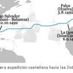 El Descubrimiento de América, primer viaje de Colón
