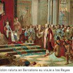 Cristóbal Colón en Barcelona