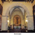 Altar de la iglesia del Monasterio de la Rábida