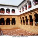 Claustro mudéjar del Monasterio de la Rábida