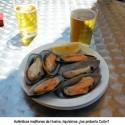 Magníficos mejillones en Huelva, de camino a la Rábida