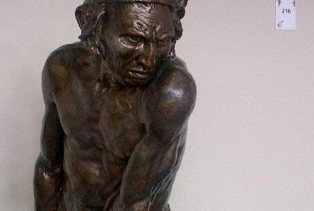 Estatua cacique taíno Caonabo