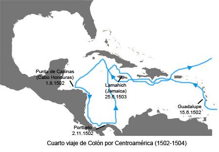 Cuarto viaje de cristobal colon imagui for Cuarto viaje de colon