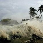 Santo Domingo arrasada por un huracán