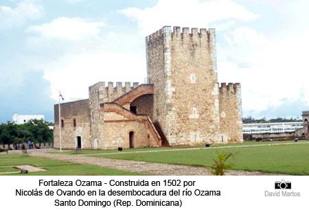 Fortaleza Ozama construida por Nicolás de Ovando