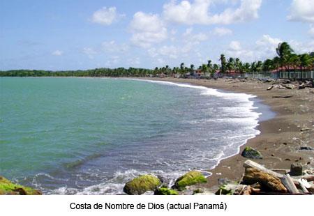 Nombre de Dios - Panamá. Tras varias semanas de trabajos en el nuevo poblado