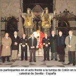 Celebran el aniversario de la llegada de los restos de Colón a Sevilla