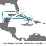 Inicios de la conquista de México. Expediciones de Hernández de Córdoba y Juan de Grijalva