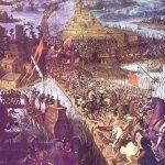 Ataque final a Tenochtitlan y captura de Cuatemoc