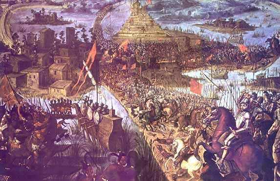 Ataque final a Tenochtitlán