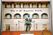 Menéndez de Avilés en San Agustín de la Florida