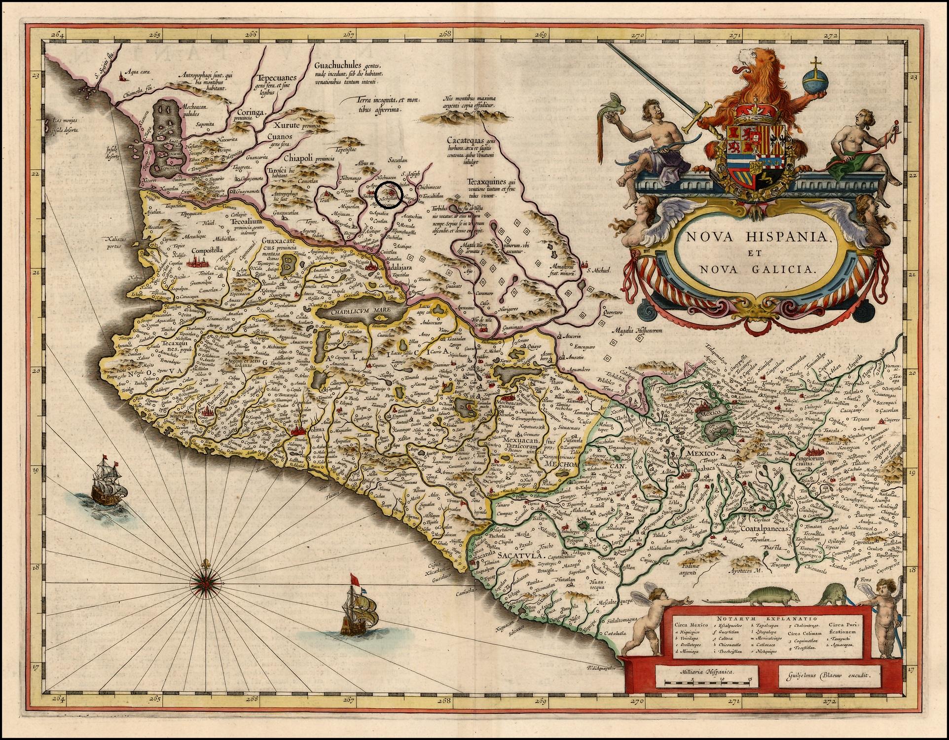 Nu o de guzm n conquistador de nueva galicia historia for Villas que fundo nuno de guzman