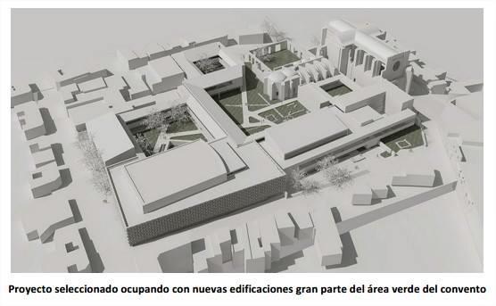 Proyecto contra las ruinas del Monasterio de San Francisco