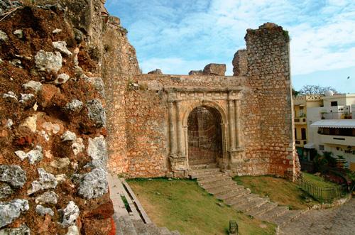 Ruinas del Monasterio de San Francisco en Santo Domingo