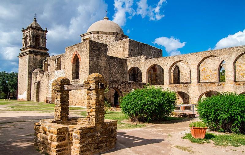 Misión de San José en Texas
