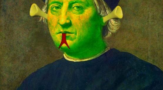 Cristóbal Colón extraterrestre
