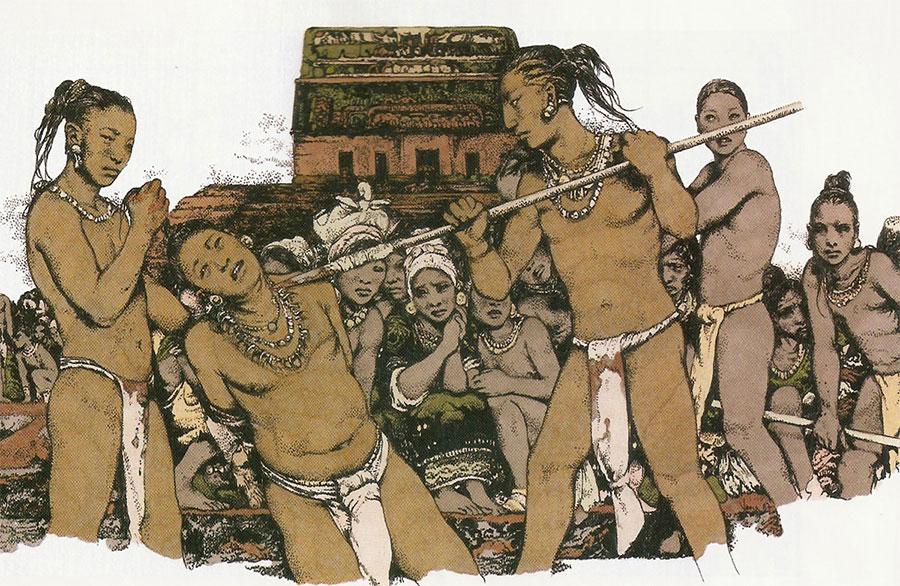 Esclavos en la América prehispánica