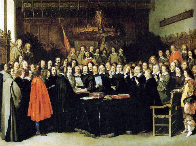 La Paz de Westfalia - La Europa del siglo XVII
