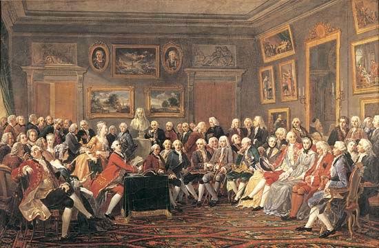 Enciclopedistas franceses - Europa en el Siglo XVIII