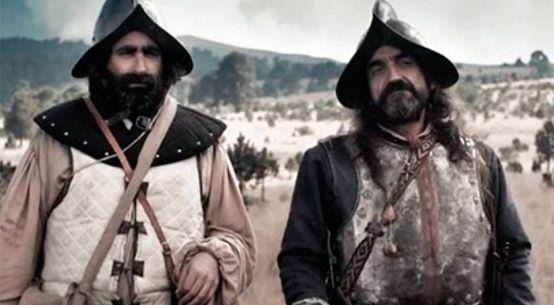 Conquistadores españoles en la Amazonía