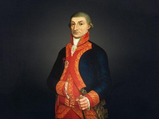 El Virrey de la Nueva España José de Iturrigaray