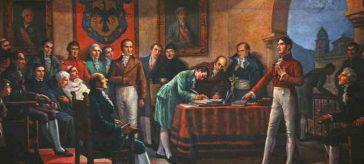 Cabildo abierto de Santafé de Bogotá, 20 de julio de 1810