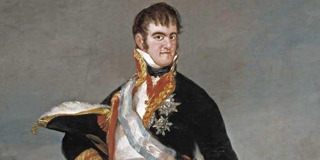 Retrato de Fernando el Católico por Francisco de Goya