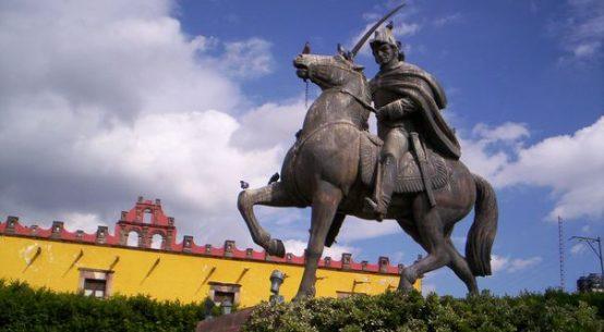 Estatua de Ignacio Allende en Guanajuato