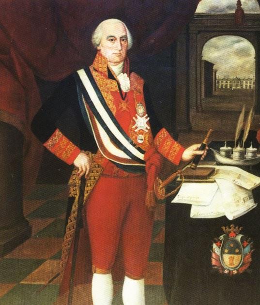 Virrey del Perú José Fernando Abascal