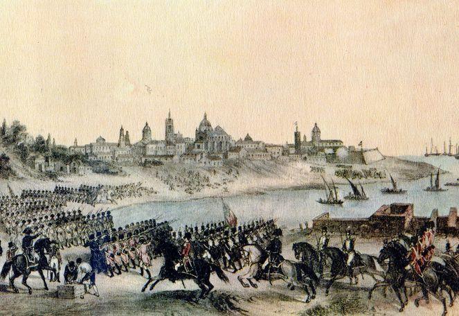 Ataque inglés a Buenos Aires en 1806