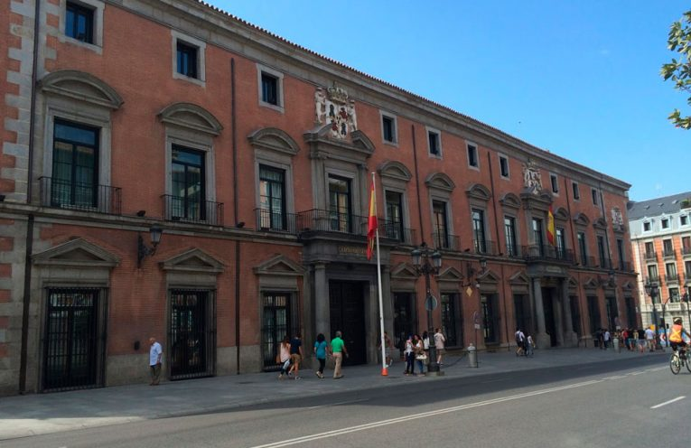Palacio de Uceda - Sede del Consejo Supremo de Indias - Madrid