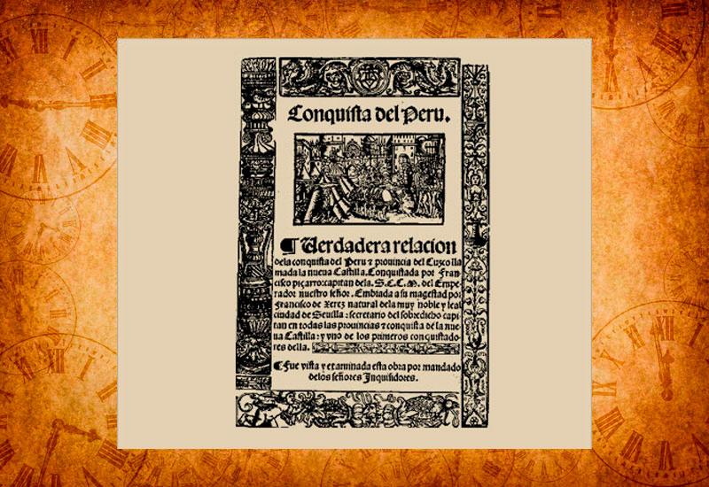 Verdadera Relación de la Conquista del Perú - Francisco de Xerez