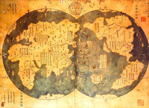 Mapa de Zheng He