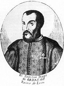 Biografía de Diego de Ordás