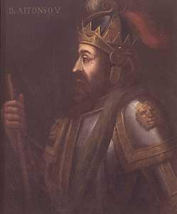 """Alfonso V de Portugal """"el africano"""""""