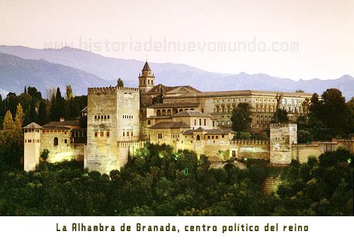 La Alhambra de Granada, centro político del reino