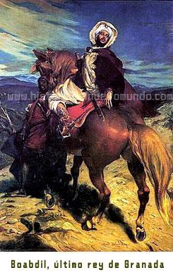 Boabdil, último rey de Granada