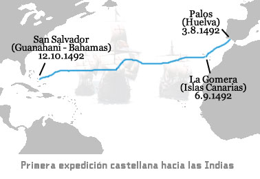 First Journey from Columbus to the Indies