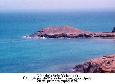 Expedición de Alonso de Ojeda - Cabo de la Vela