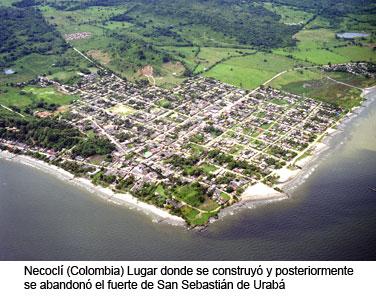 Ciudad colombiana de Necoclí