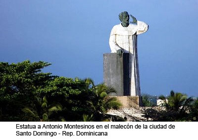 Antonio de Montesinos en Santo Domingo