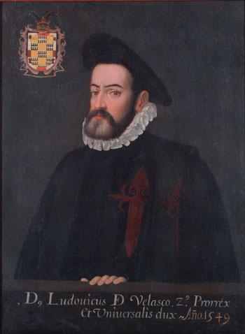 Retrato del segundo virrey de Nueva España Don Luis de Velasco