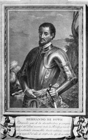 Hernando de Soto, conquistador y explorador español