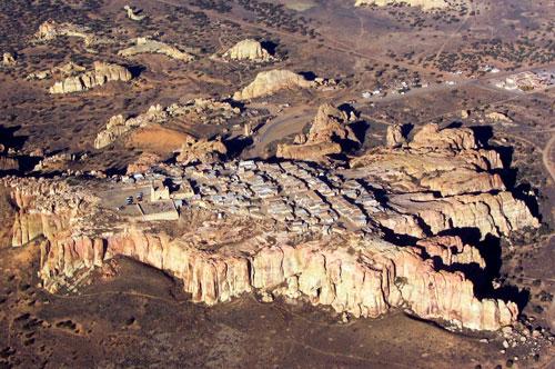 Pueblo de Acoma - Fortaleza natural conquistada por Zaldívar