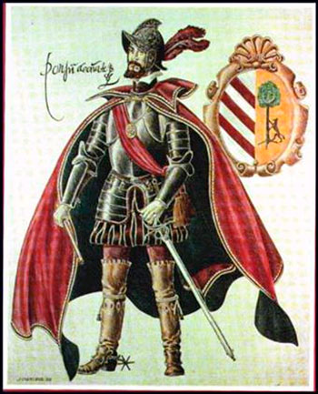 Don Juan de Oñate conquistador del Nuevo México