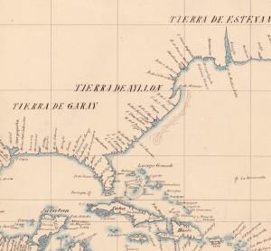 Mapa de Ribero de 1529