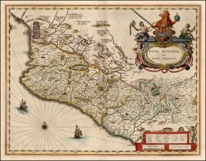 Mapa de Nueva Galicia