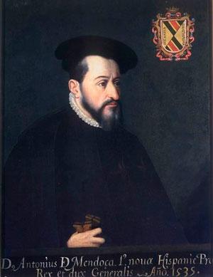 Retrato del virrey Antonio de Mendoza